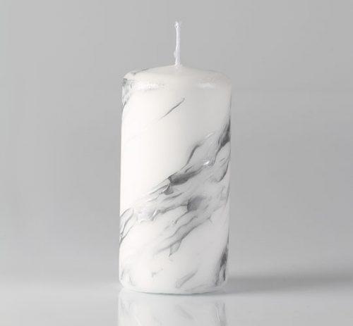 hopea marmori pöytäkynttilä